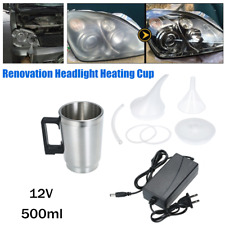 Renovation Headlight Heating Cup Lens Polish Atomization Repair Cup Restore Kit