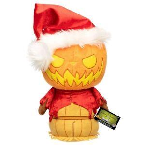 The Nightmare Before Christmas - Santa Jack Pumpkin King SuperCute Plush [RS]...