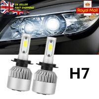 2X H7 LED Headlight Kit 20000LM High or Low Beam Bulbs 6000K Bright VS Xenon HID