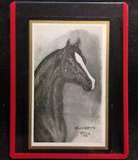 Elizabeth Bell 1966 Horse Vintage Playing Cards U.S. Artist Swap Single Scarce