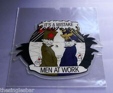 """Men At Work - It's A Mistake UK 1983 Epic Shaped 7"""" Picture Disc"""
