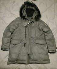 RAG & BONE NWT $1695 Arctic Parka Fur Wool & Goose Down Coat L Large Jacket