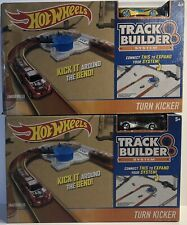 2 Hot Wheels Track Builder Extension Kick it Around the Bend - Turn Kickers 2015
