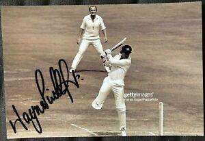 Australia Cricket Legend Wayne B Phillips Signed Photo
