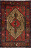 "Hand-knotted Carpet 4'4"" x 6'9"" Koliai Traditional Wool Rug"