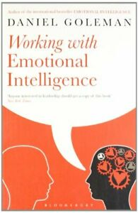 Working with Emotional Intelligence by Goleman, Daniel Paperback Book The Cheap