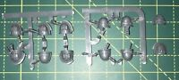 Grey Knights Shoulder Pads x12 Warhammer 40K Space Marine Bits