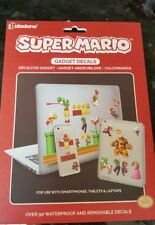 SUPER Mario GADGET Decalcomanie Nintendo prodotto ufficiale per Smartphone Tablet ecc.