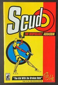 Scud the Disposable Assassin #1 (1st print), Fireman Press, 1994 comic