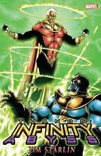 THANOS: INFINITY ABYSS (NEW PRINTING) BOOK BY STARLIN, JIM BRAND NEW