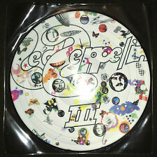 Led Zeppelin III Vinyl LP Record Picture Disc Rare 3 HATS 421-56-P NEVER PLAYED!