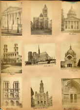 Architectural Exterior, Cathedrals And Famous Buildings. Albumen.