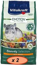 Vitakraft Complete Food for Chinchillas All Ages 600g x 2
