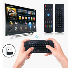 2.4G Rechargeable Wireless Keyboard Gyro Fly Air Mouse IR PC TV Remote Control