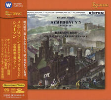 SACD ESOTERIC MENDELSSOHN, SCHUMANN Symphonies No 3 - KLEMPERER