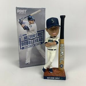 """Seattle Mariners Nelson Cruz """"BOOMSTICK EDITION"""" Bobblehead 2016 New in Box"""