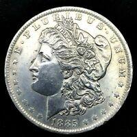 1885-O Morgan Silver Dollar - Choice Uncirculated, Collectible Coin.#10.1
