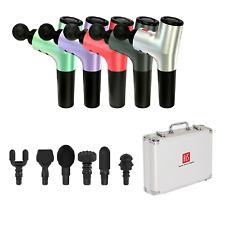Hi5 Nova - 1 Dispositivo de masaje de vibración de percusión de tejido profundo Masajeador Con 6 cabezas