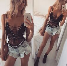 Black Lace Summer Body PlaySuit  Med Size, Brand new Was $69.95