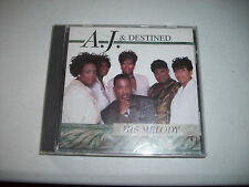 A.J. & Destined His Melody CD Gospel Hard to Find 1999
