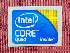 Intel Core 2 Quad Inside Sticker 18.5 x 24mm 2009 Version Logo For Desktop