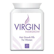 VIRGIN FOR WOMEN HAIR LOSS PILLS TABLET GET LONG HAIR STOPS BALDING & THINNING