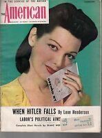 1944 American February-Clarence Budington Kelland; Bill Stout Skybuggies; Hitler