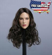 1/6 Monica Bellucci Head Sculpt For Hot Toys Phicen Kumik Female Figure ❶USA❶