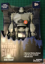 Warner Bros The Iron Giant Light & Sound Walking Iron Giant Eyes Light Up Robot