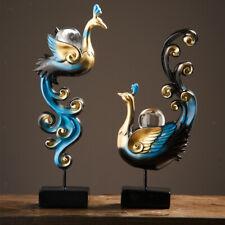 Phoenix Skulptur Sammlung Dekorationskunst, Harz Wohnaccessoires, dekorative