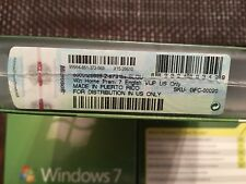 Microsoft Windows 7 Home Premium, Upgrade, SKU GFC-00020, Sealed Retail Box