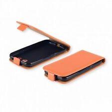 % FLEXI Handy Tasche Hülle Cover Orange r Schutzhülle Samsung Galaxy Ace 4