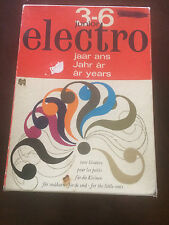 Vintage 1965 Junior Electro Kids Board Game by Jumbo-Excellent!!!