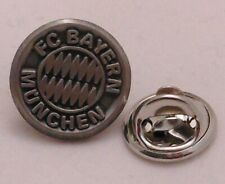 PIN + FC Bayern München + Signet + Vereinswappen Silber 15 mm + Lizenzware (88)