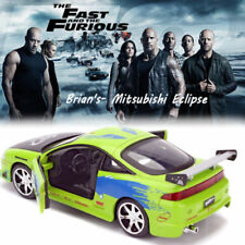1:32 Mitsubishi Eclipse FAST & FURIOUS Brian's CAR KID TOY DIECAST MODEL VEHICLE