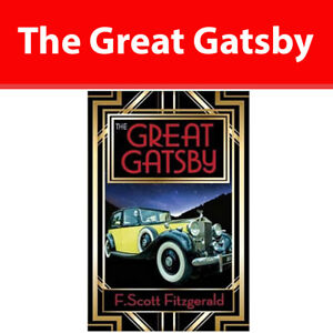 The Great Gatsby by F. Scott Fitzgerald Literary Fiction Paperback NEW