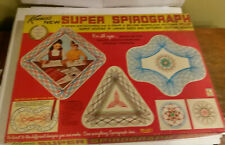 Kenner Super Spirograph 1969 drawing shapes toy #2400