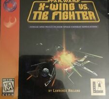 Star Wars-X Wing Vs Tie Fighter-Pc Cd Rom Video Game-Tested-Rare-Ships N 24 Hrs
