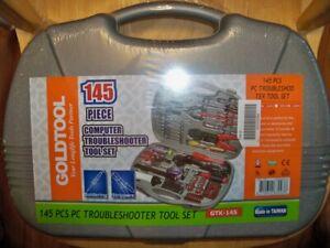 Computer Repair Tool Kit Homeowner Tool Set Hardware Technician Tech Service 145