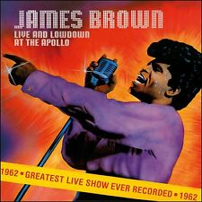 CD James Brown and His Famous Flames Live at The Apollo - 1962 / IMPORT