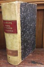 1862 ELEMENTA THEOLOGIAE DOGMATICAE E PROBATIS AUCTORIBUS COLLECTA F.X. SCHOUPPE