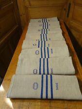 Antique European Feed Sack GRAIN SACK OI Monogram # 10621