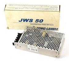 NEW LAMBDA JWS50-24/A POWER SUPPLY 2.2A, JWS5024