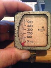Rare Vintage Schardeer U.S.A. 2 Inch 0 To 500 Psig Gauge