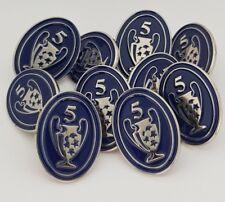 Liga de Campeones-Insignia de Honor - 5 veces ganadores Pin Insignia-Liverpool FC