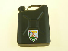 """14 Intelligence """"The Det"""" Deluxe Ltd Edition Badged Jerry Can Hip Flask"""