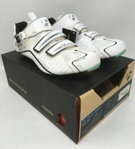 NEW Bontrager RL Road EU 39 US 7.5 Women's White Carbon Cycling Shoes MSRP $180