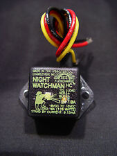 Flexcharge 12 volt dc photo switch Nightwatchman 10 amps made in Usa sealed