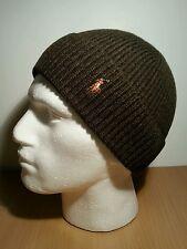 BNWT Ralph Lauren Signature Cuffed Merino Hat,  Wilson Olive Heather