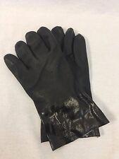Black PVC Coated Gloves, GLO1217